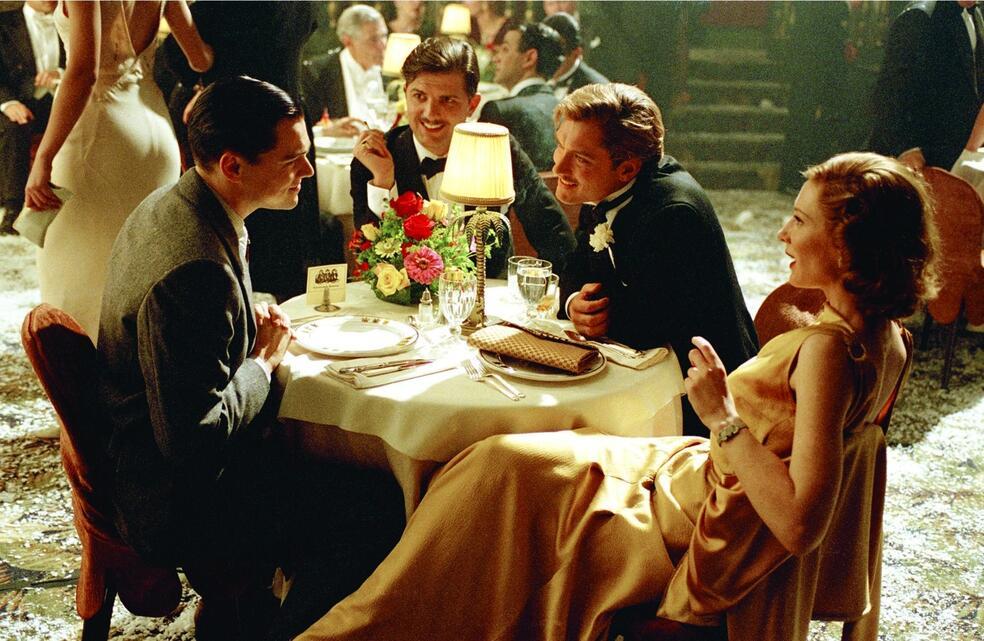 Aviator mit Leonardo DiCaprio und Cate Blanchett