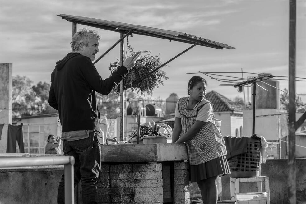 Roma mit Alfonso Cuarón