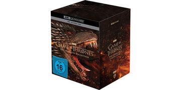 The Game of Thrones 4k seasons 1-8 Box Set