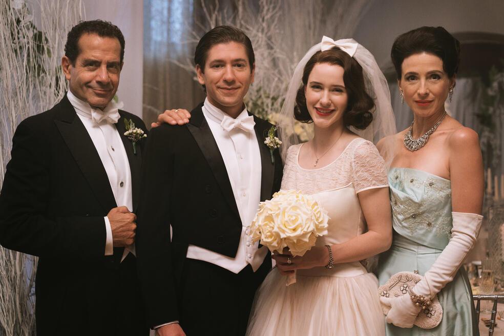 The Marvelous Mrs. Maisel, The Marvelous Mrs. Maisel - Staffel 1 mit Tony Shalhoub, Rachel Brosnahan, Marin Hinkle und Michael Zegen