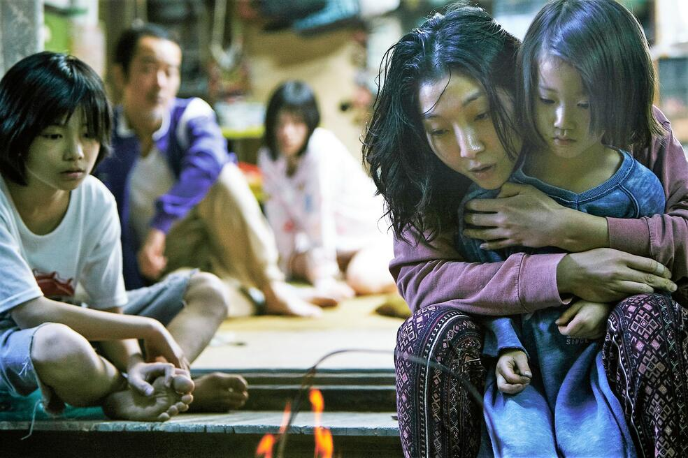 Shoplifters - Familienbande mit Sakura Ando, Mayu Matsuoka, Lily Franky, Miyu Sasaki und Jyo Kairi