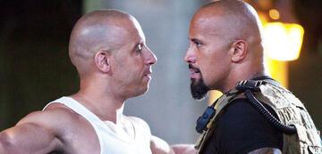 Franchise heads: Vin Diesel and Dwayne Johnson