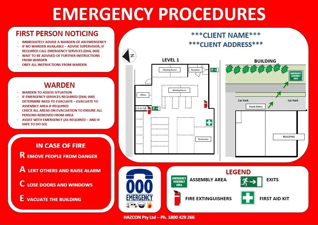 Business emergency plan template accmission Choice Image