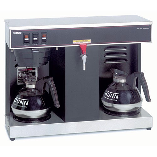 bunn 7400 0005 automatic commercial coffee brewer hot water faucet