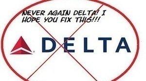 Image result for image of delta airlines boycott