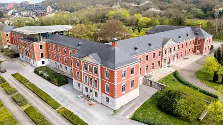 Château du Val Saint-Lambert : sede del seminario y salas de ...