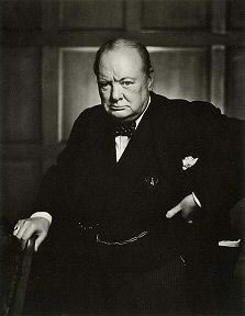 Sir Winston Leonard Spencer-Churchill,