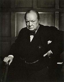 Sir Winston Leonard Spencer-Churchill,