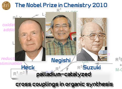 速報】2010年ノーベル化学賞決定...