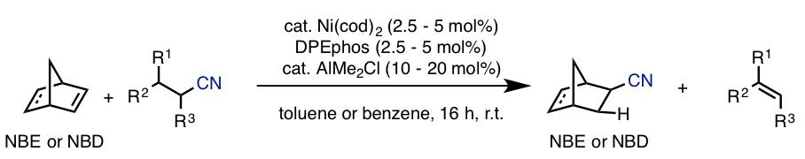 図4. 環ひずみの解消を駆動力とする逆ヒドロシアノ化反応