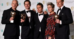 Three Billboards, grand vainqueur des Bafta Awards