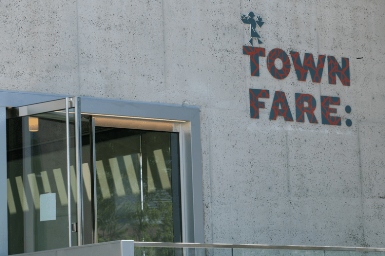 Town Fare restaurant at Oakland Museum of California