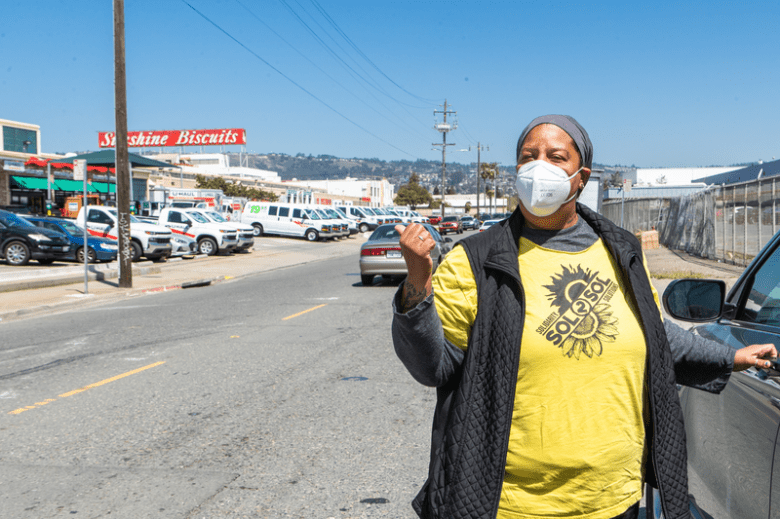 Air pollution in East Oakland.