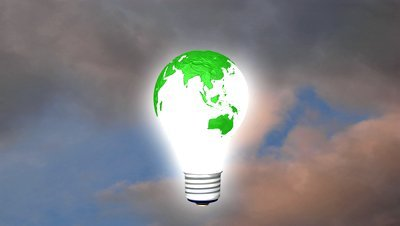 stock-footage-green-icon-of-earth-and-green-energy-issues-seamless-loop