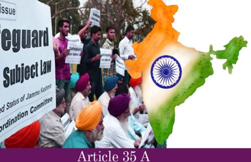 What is Article 35 A and Article 370 in Jammu and Kashmir