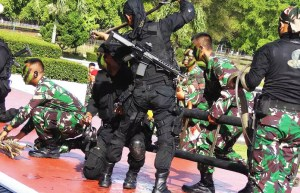 Indonesian troops