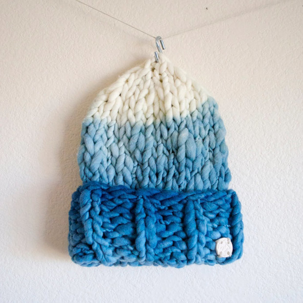 Knit Merino Wool Hats from Rustic Thread