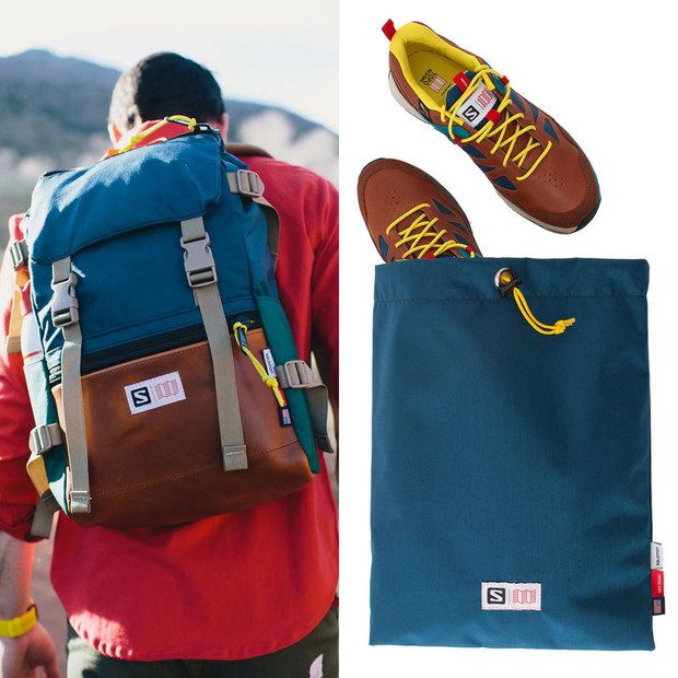 Topo Designs + Salomon Collection