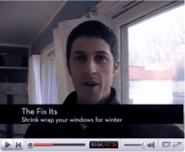 The Fix Its: Shrink Wrap Your Windows for Winter