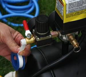 How to Set Up Your Air Compressor for Power Tools   Curbly