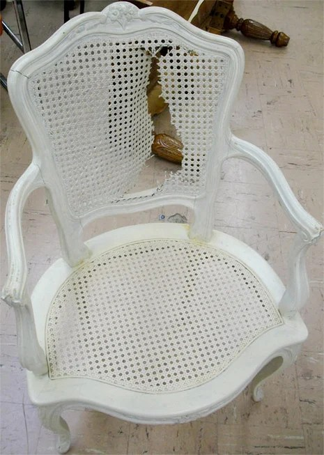 How To Fix A Torn Cane Chair 187 Curbly Diy Design Amp Decor