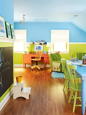 overall of playroom