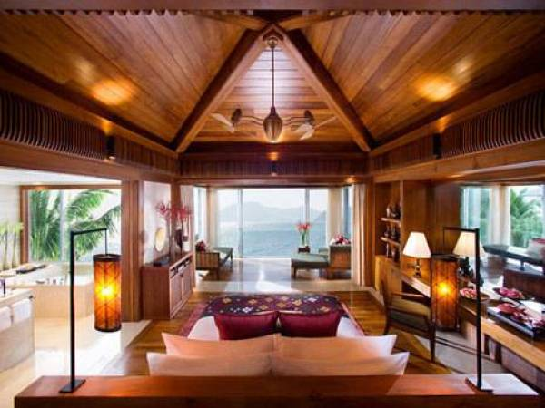 bedroom view villa island 23 Amazing Bedrooms with a Panoramic View of the Ocean