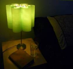 Lily 9 Green Table Lamp