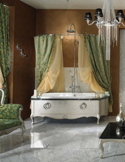 lineatre bathroom silver 3 Dramatic, Opulent and Original Bathtubs From Lineatre
