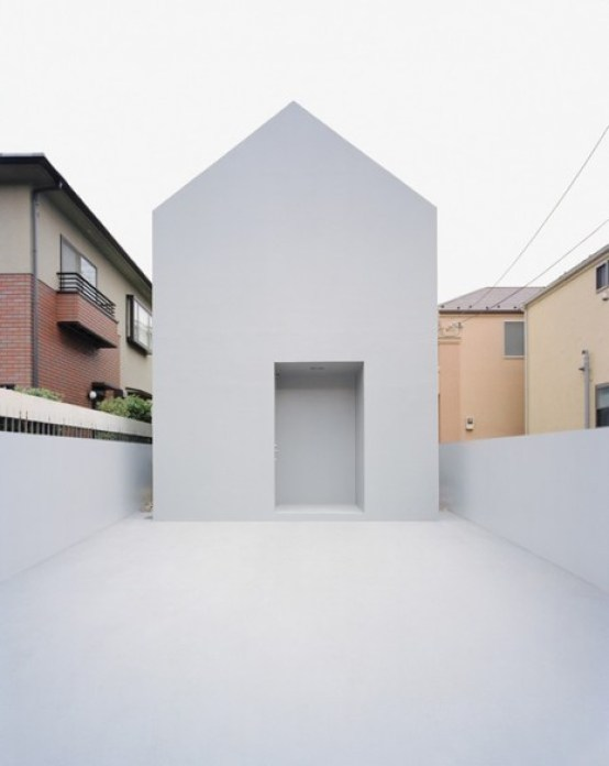 the most minimalistic ghost house