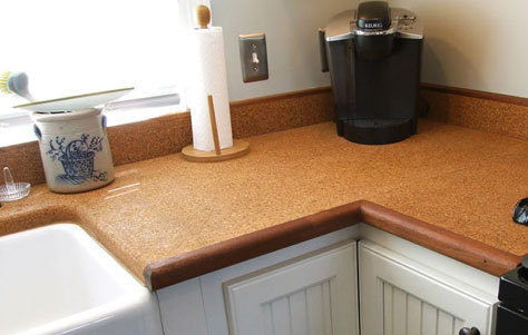 Get Creative with ECO Supply's Suberra Cork Countertops
