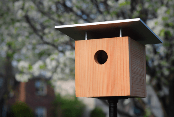 How to make a birdhouse - modern and MCM design plans