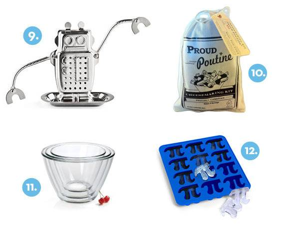 Curbly Kitchen Gift Guide 2011 items 9-12