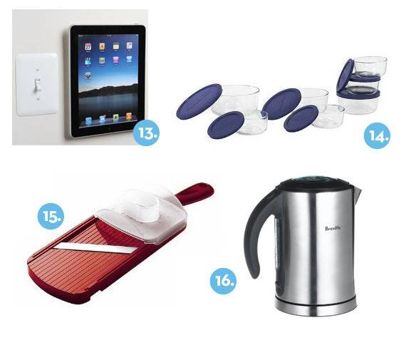 Curbly Gift Guide: 2011 kitchen gifts items 13-16