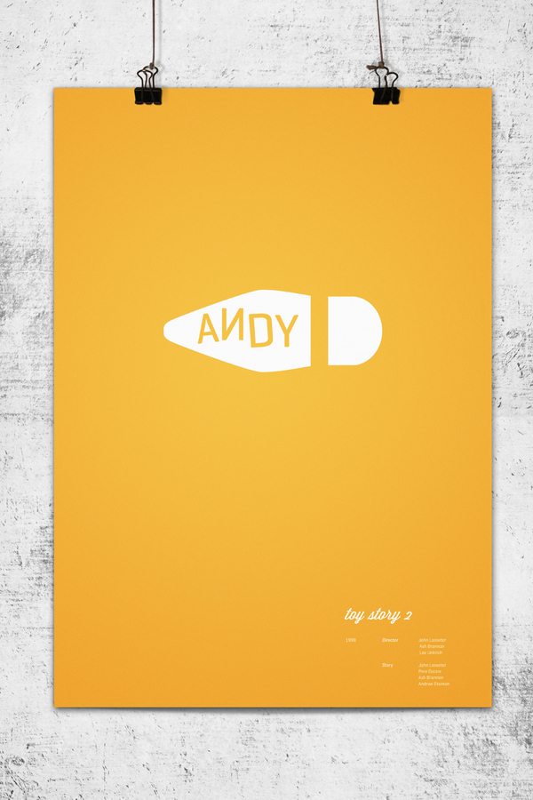 Minimalist Toy Story 2 Poster