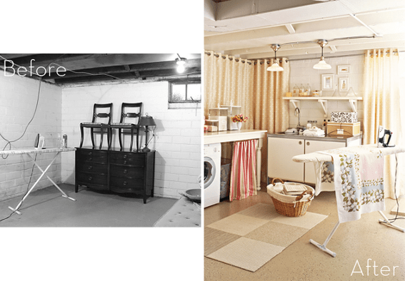 Basement Laundry Laundry And Laundry Rooms On Pinterest
