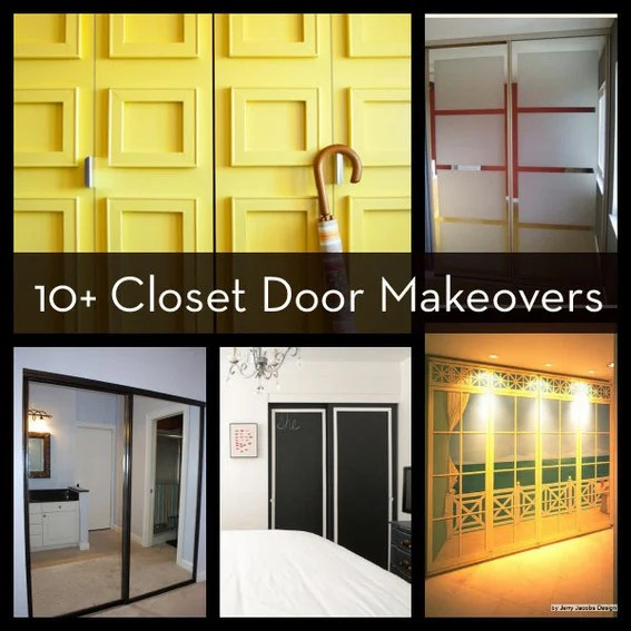 Roundup 10 Easy And DIYable Closet Door Makeovers Curbly