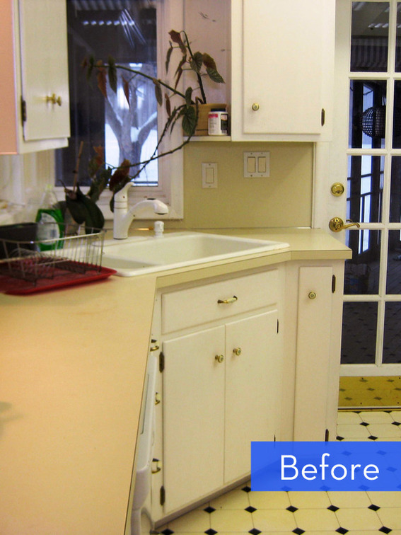Before And After A Budget Friendly Kitchen Makeover