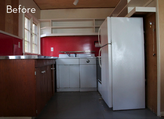 A Bright And Bold Cabin Kitchen Makeover 187 Curbly Diy