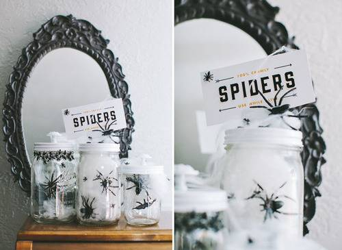 Free Printable Fun Halloween Jars