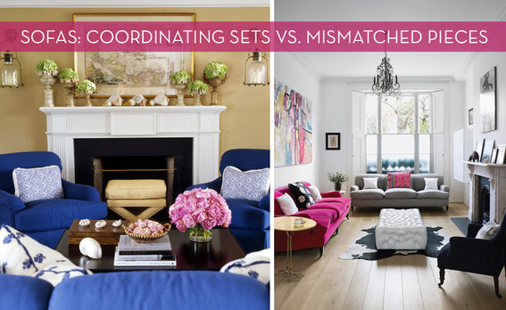 How To Make Mismatched Living Room Furniture Work