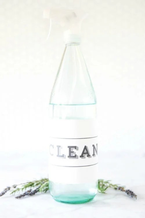 Printable Cleaning Label
