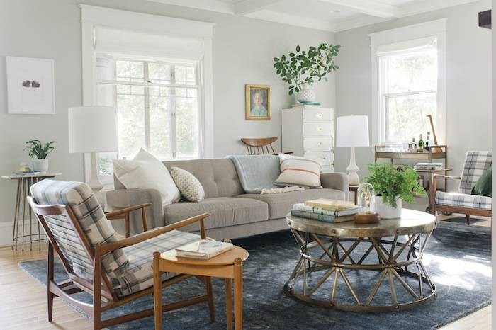 Curbly House Tour // Living Room - After