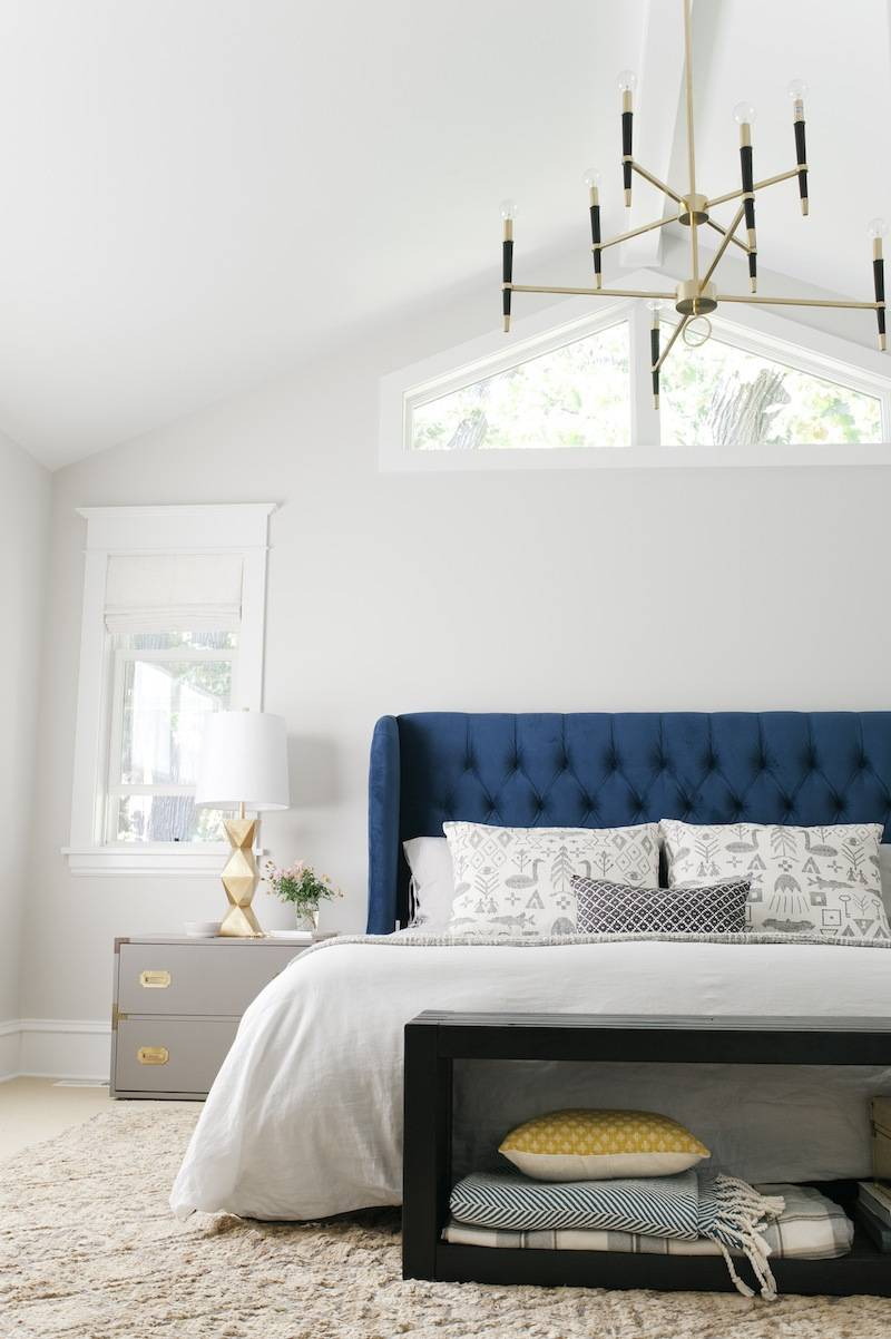 Curbly House Tour // Master Bedroom - After