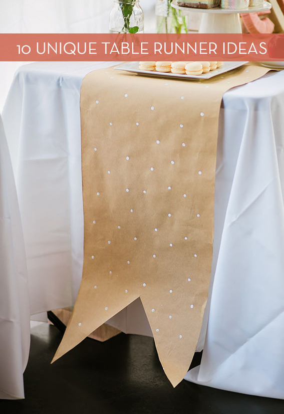 10 Creative DIY Table Runner Projects
