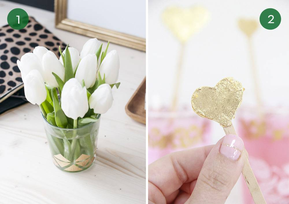 10 Gorgeous DIY Projects Using Gold Leaf