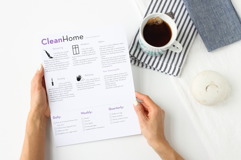 Learn How to Keep Your Home Neat and Tidy with this Clean Home Check List
