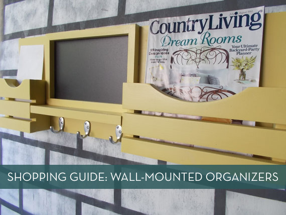 Wall-Mounted Mail Organizer