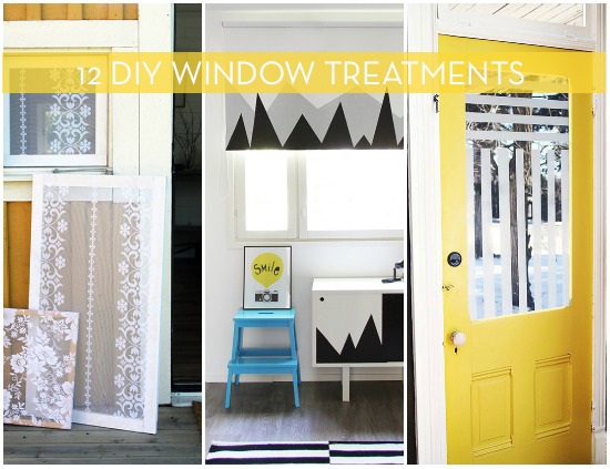 12 DIY window treatments