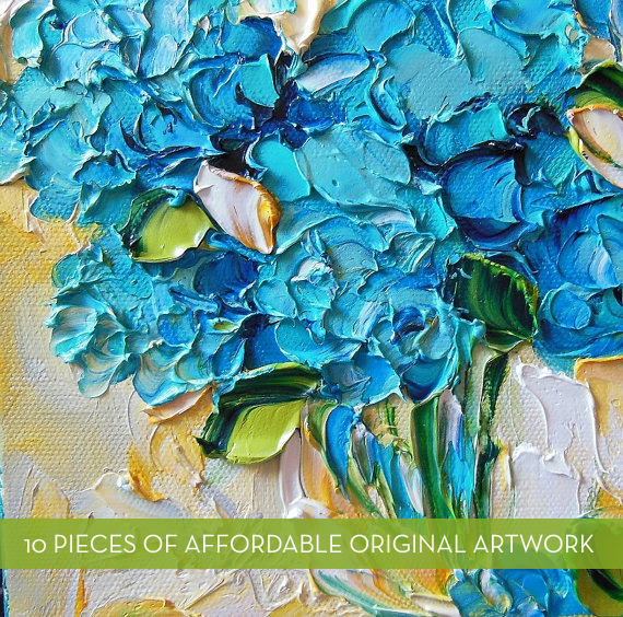 Colorful, Original and Affordable Art